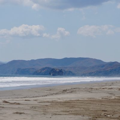 Strand und fast kein Schatten. In der Sonne nicht auszuhalten