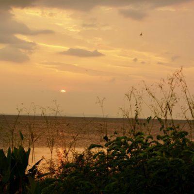 Sonnenuntergang in San Carlos am Nicaragua See