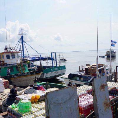 Am Hafen von Bluefields