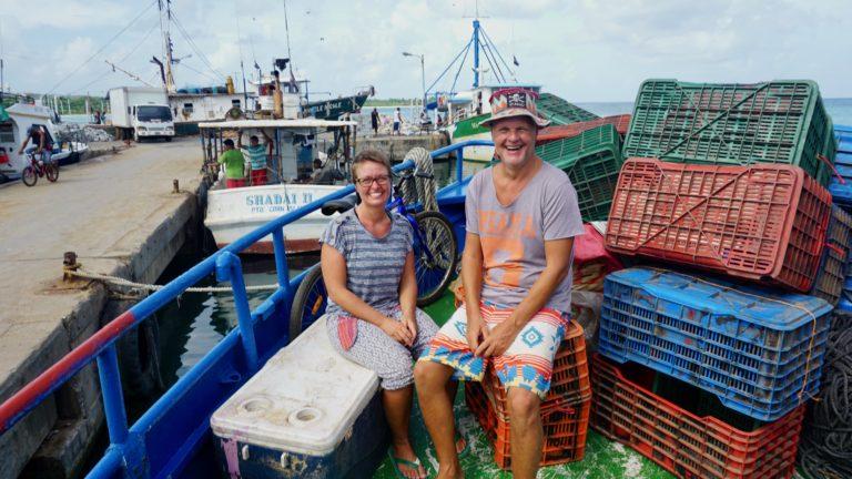 Reisetage von Big Corn Island, via El Rama, Quesada nach Panama City