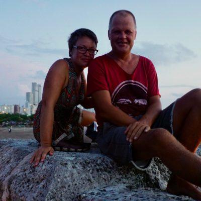 Ein Klassiker... Von der Stadtmauer den karibischen Sonnenuntergang - bei Cola / Rum - genießen.