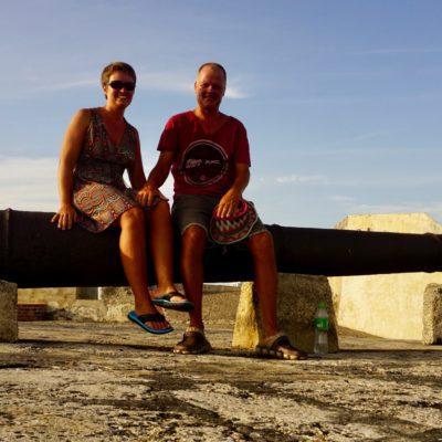 Auffe Mauer San Felipe