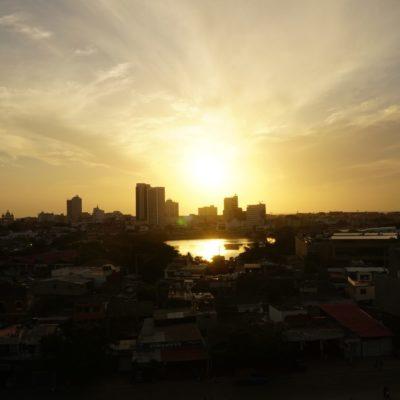 Sonnenuntergang vom El Castillo San Felipe