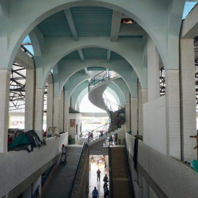 Die Markthalle von Santa Marta