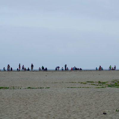 Nur ca. 5 Minuten zu Fuß zum Strand. Baden verboten, da die Strömung schon lieben das Leben gekostet hat.