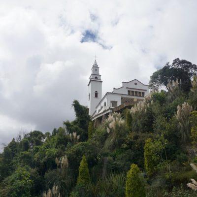 Der Cerro de Monserrate ist ein 3152 Meter hoher Berg in Bogotá