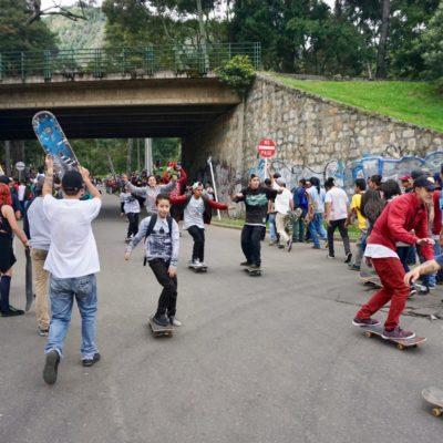 Let's go skateboarding!