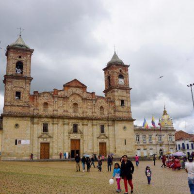 Der Hauptplatz von Zipaquirá