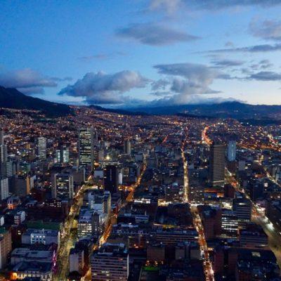 Es dämmert in Bogotá