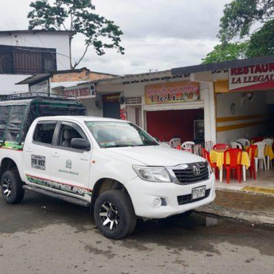 Unser Reisegefährt ab Mocoa