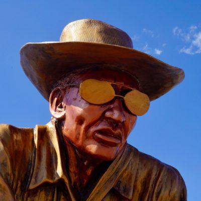 Der kolumbianische Schriftsteller Gabriel José García Márquez
