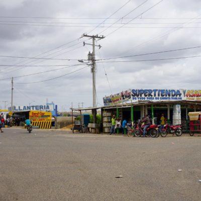 Umsteigekreuzung in Uribia
