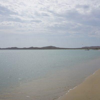 Der Strand von Cabo de la vela