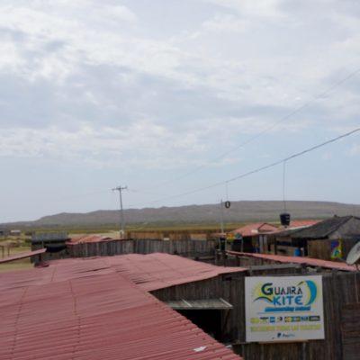 Über den Dächern von Cabo de la Vela