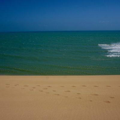 Wüste und Meer
