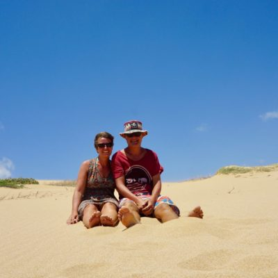 Wüste und wir