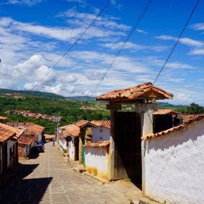 Die Altstadt von Barichara