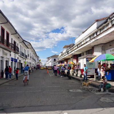 Popayán Altstadt