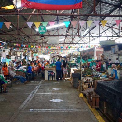Am Markt. Da gab es wieder mal lecker Ceviche