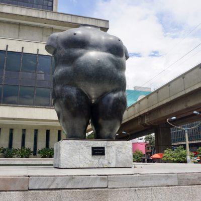 Im Park der Skulpturen von Fernando Botero