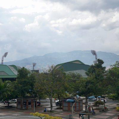 Das Fussballstadion von Medellin