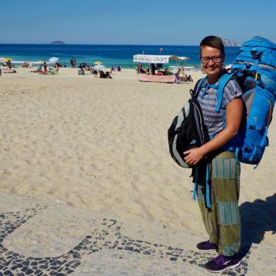 Das letzte Bild am Strand von Ipanema