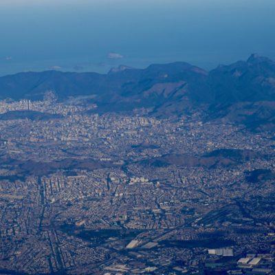 Rio aus dem Flieger