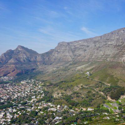 Der mächtige Tafelberg