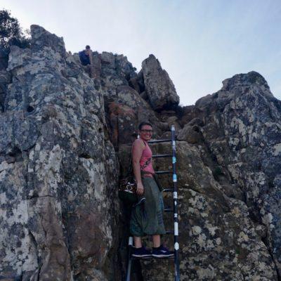 2 x Kletterhilfe auf dem Weg nach oben
