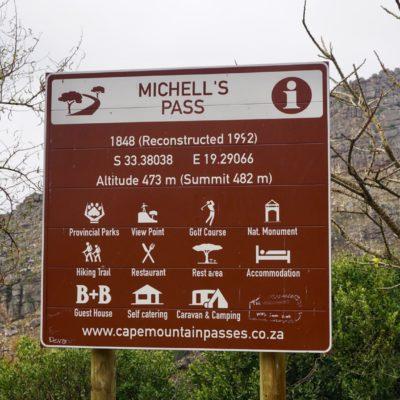 Michell's Pass