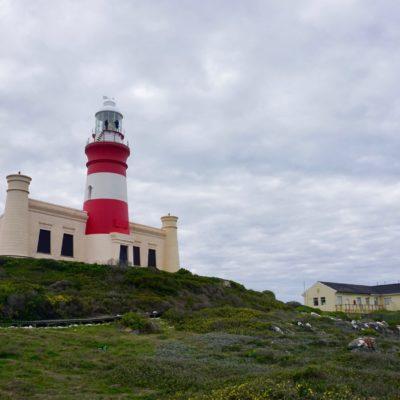 Leuchtturm am südlichsten Punkt Afrikas