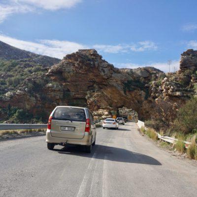 Ab ins Gebirge Richtung Montagu