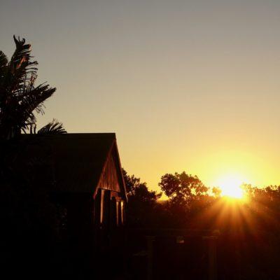 Toller Sonnenuntergang. Danach wurde es aber kühl ( Nachts so 12-13 Grad )
