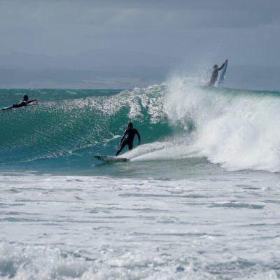 Ordentlich was los in den Wellen