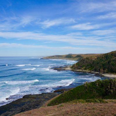 Die Küste in Morgan Bay