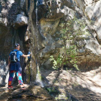 Frisches Bergwasser ist gesund!