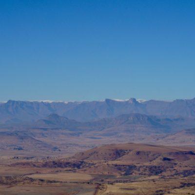 Die Drakensberge bei Bergville