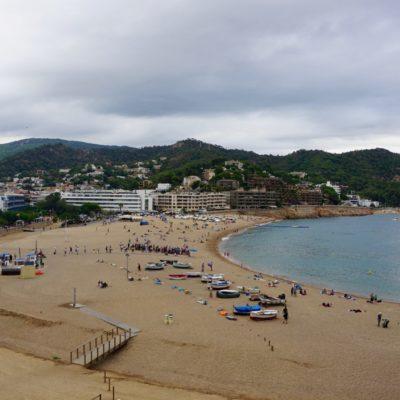 Der Strand von Tossa de Mar