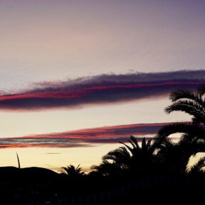 Sonnenuntergang in Peñiscola