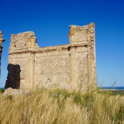 Die Reste einer alten Festung