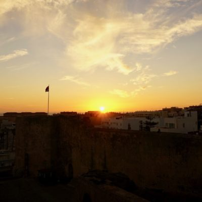 Und nochmal Sonnenuntergang