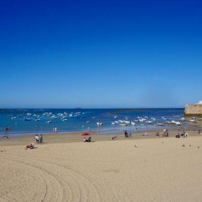 Hier nochmals der ein Strandabschnitt