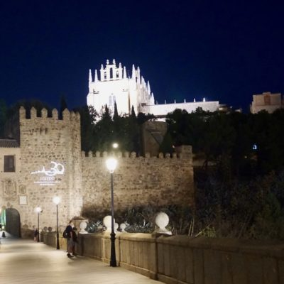 Toledo am Abend