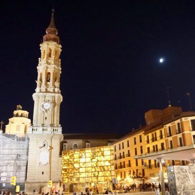 Die Altstadt von Saragossa