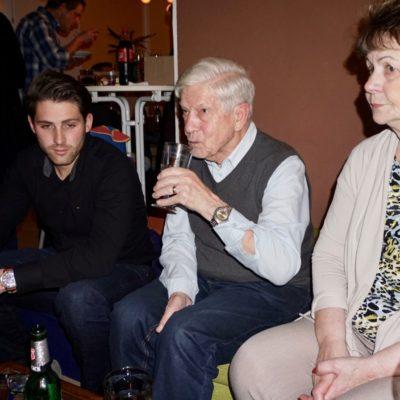 Welcome back to Steilo Party. Her mit Hannelore, Werner und Flo
