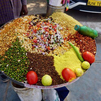 Unsere Indische Cevice. Ganz ander, aber kann man immer und überall für 25 Cent essen