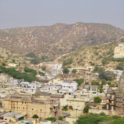 Blick auf Amber City