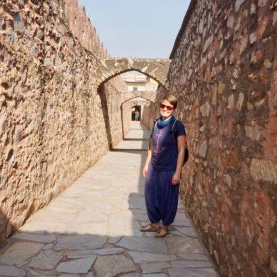 """Der """" Tunnel """" vom Amber Fort zum Jaighar Fort"""