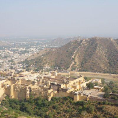 Blick auf das Amber Fort