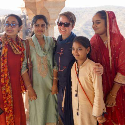 Selfie am Jaighar Fort